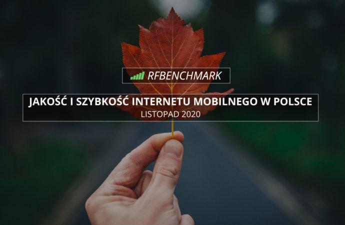 Jesienna stabilizacja w barwach Orange – ranking RFBENCHMARK (listopad 2020)